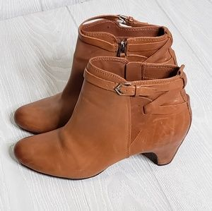 Sam Edelman Leather Booties, Womens Size 9.5M